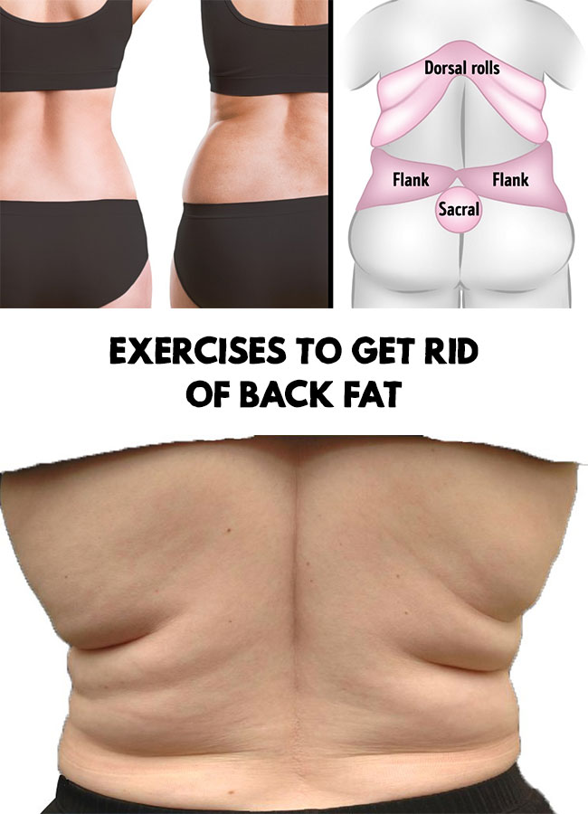 Back Fat Exercises Exercises To Get Rid Of Back Fat